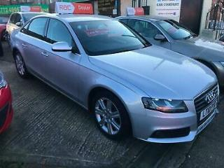 10 AUDI A4 1.8T FSI SE IN SILVER ONLY 59,000 MILES FROM NEW WITH SERVICE HISTORY