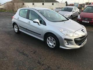 10 Peugeot 308 1.6HDi 90bhp S DT 5 DOOR SILVER WITH HISTORY 1 former keeper