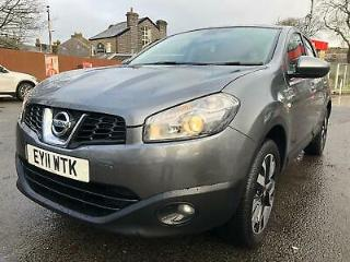11 plate Nissan Qashqai+2 1.6 Acenta 7seater low 56 K on clock