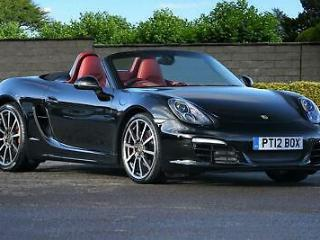12 Porsche Boxster S 3.4 [981] Manual 1 OWNER Vector Diff PASM Chrono FPSH
