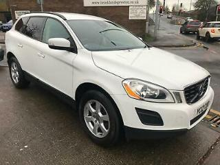 12 VOLVO XC60 2.0TD D3 DRIVe 163 ES IN WHITE WITH FULL SERVICE HISTORY