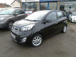 13/63 KIA PICANTO 1.2 2 5 DOOR,FROM ONLY £104.06 PER MONTH,9.9 APR