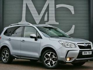 14 Plate Subaru Forester 2.0 240ps 4X4 Lineartronic XT Turbo FSSH 1Owner PanRoof