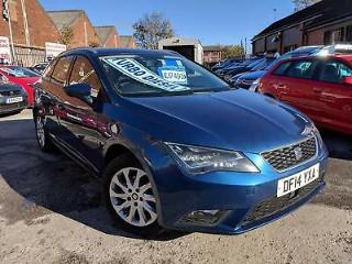 14 Reg Seat Leon 1.6 TDI CR SE Sport Tourer Estate [Tech Pack] *1 Owner & VAT Q