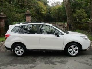 15 SUBARU FORESTER 2.0 TD X 4X4 45,492 MILES DIESEL WHITE SUPERB EXAMPLE