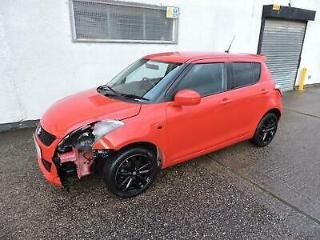16 Suzuki Swift 1.2 SZ L Damaged Salvage Repairable £30 Tax, Sat Nav!