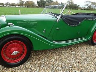 1936 Riley Tourer SPECIAL [pre select gear box] Convertible Petrol Manual