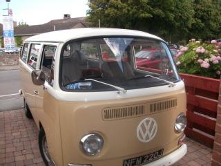 1971 Danbury Camper VW Bay Window Type 2 Van