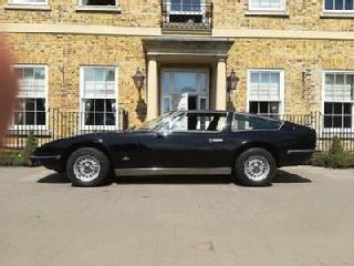 1972 Maserati Indy 2+2 4900 Coupe by Carrozzeria Vignale LHD