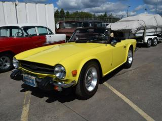 1974 Triumph TR6. fresh import, UK reg, ready to use