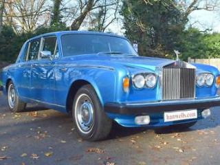 1978 S Rolls Royce Silver Shadow Series II in Le Mans Blue