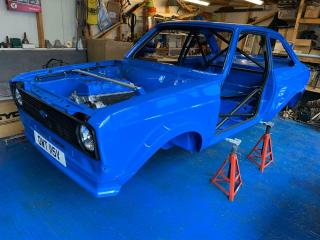 1980 FORD ESCORT MK2 WITH HONDA S2000 ENGINE UNFINISHED PROJECT