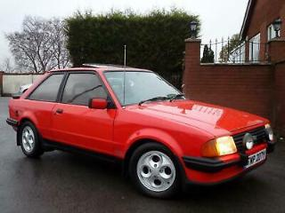 1983 Y FORD ESCORT XR3I + ONLY 2 OWNERS FROM NEW + ONLY 77,000 GENUINE MILES!