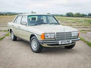 1984 Mercedes Benz W123 300D Auto 77k Miles FSH The Best Available