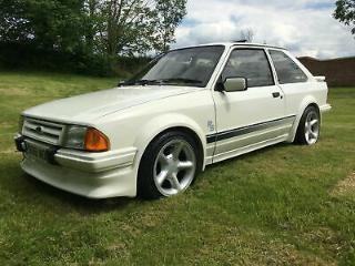 1985 B FORD ESCORT RS TURBO SERIES 1 LOVELY EXAMPLE RUNS/DRIVES GREAT! BARGAIN
