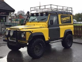 1985 LAND ROVER 90 DEFENDER 300 Tdi 4x4 OFF ROAD MODULAR WHEELS + BIG TYRES
