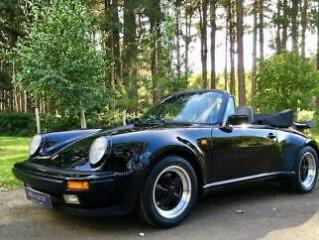 1988 Porsche 911 / 930 Turbo Cabriolet sensational, low mileage example