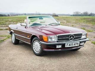 1989 Mercedes Benz R107 300SL 7,714 Miles From New