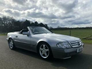 1990 Mercedes Benz 300 SL 24V Auto Last Owner 5 Years 19 Mercedes Service Stamps