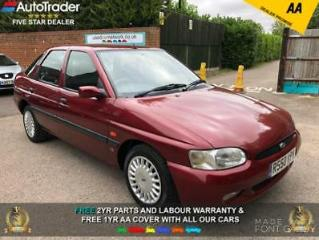 1997 R FORD ESCORT 1.8LX 1 FORMER KEEPER LOW MILES FSH 2 TIMING BELT REPLACEMENT