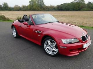 1998 BMW Z3M Roadster 3.2 Imola Red Full Service History