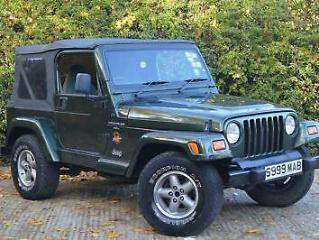 1998 Jeep Wrangler 4.0 Sahara Hard Top 4x4 3dr