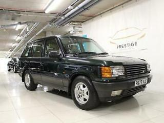 1998 Land Rover Range Rover 4.6 HSE 4dr Auto, Low Miles Petrol green Automatic