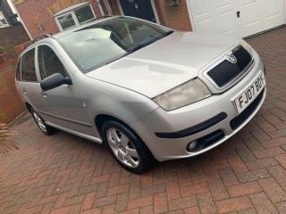 """20007 SKODA FABIA BOHEMIA 1.4 TDI PD 80 ESTATE""""OWNED BY THE POLICE FROM NEW"""""""