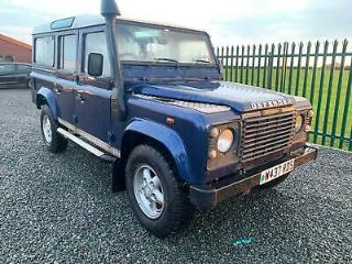 2000 Land Rover 110 Defender 2.5 Td5 4x4 NEED TLC RUNS PERFECT