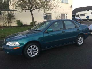 2000 Volvo S40 xs 1.8 Petrol 5 speed manual only 58,000 miles 12 Months MOT