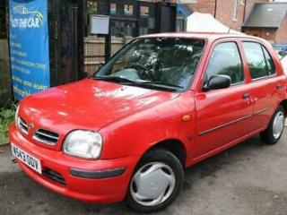 2000 W Reg Nissan Micra 1.0 PROFILE 16V 5 Door Red Automatic