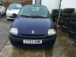 2000 X Renault Clio 1.1 Grande for sale with full service history