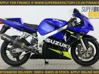 2001 C SUZUKI GSXR600 NATIONWIDE DELIVERY, USED MOTORBIKE