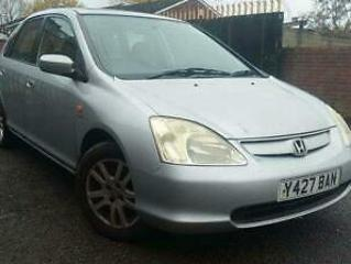2001 Honda Civic 1.6 i VTEC SE Executive 5dr