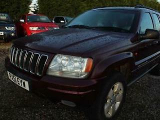 2001 Jeep Grand Cherokee 4.0 Limited 4x4 5dr