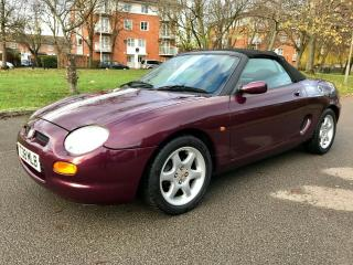 2001 MG MGF 1.8VVC 120BHP RARE CONDITION NO RUST LOW MILES