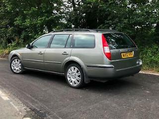 2002 52 FORD MONDEO 2.5 V6 GHIA X ESTATE MANUAL ONLY 75000 MILES DRIVES SUPERB