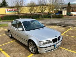 2002 BMW E46 330D SE 4DR DIESEL SALOON MANUAL 320 325 330 + PX TO CLEAR