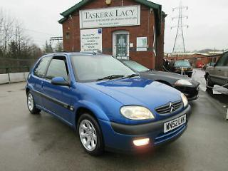 2002 Citroen Saxo 1.6i VTR Low Mileage & One Former Keeper