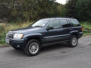 2002 Jeep Grand Cherokee CRD Limited Auto 5 door Four Wheel Drive