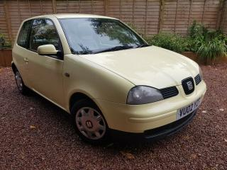 2002 SEAT AROSA 1.0 * 37,500 MILES, 1 LADY OWNER, FULL SERVICE HISTORY