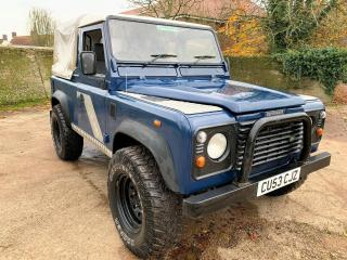 2003/53 Land Rover Defender 90 TD5 pickup with tilt+long MOT, warranty
