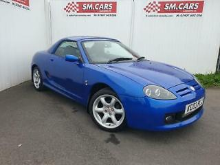 2003 03 MG TF 1.8 COOL BLUE CONVERTIBLE HARD TOP 135ps,LOW MILEAGE,GREAT SPEC