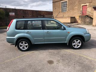 2003 52 PLATE NISSAN X TRAIL 2.5 PETROL AUTOMATIC 4X4 LEATHER MET BLUE MAY PX