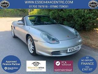 2003 53 PORSCHE BOXSTER S 3.2 6 SPEED MANUAL CONVERTBILE ONLY 83,694 MILES