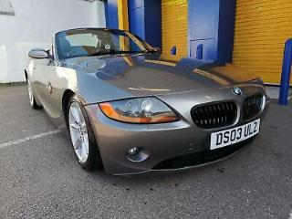2003 BMW Z4 2.5 i Roadster 2dr 63,000 Miles Automatic
