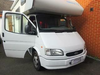 Rimor Europeo 6 berth 6 belt compact motorhome on Ford Transit 2.5 D LHD
