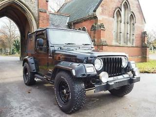 2003 Jeep Wrangler 4.0 Sport Auto, aircon soft top 4x4,big wheels side exhaust