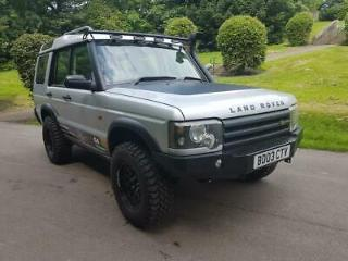 2003 LAND ROVER DISCOVERY II TD5 ES AUTO OFF ROADER