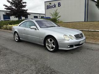2003 Mercedes Benz CL500 5.0 auto. WHAT A CAR